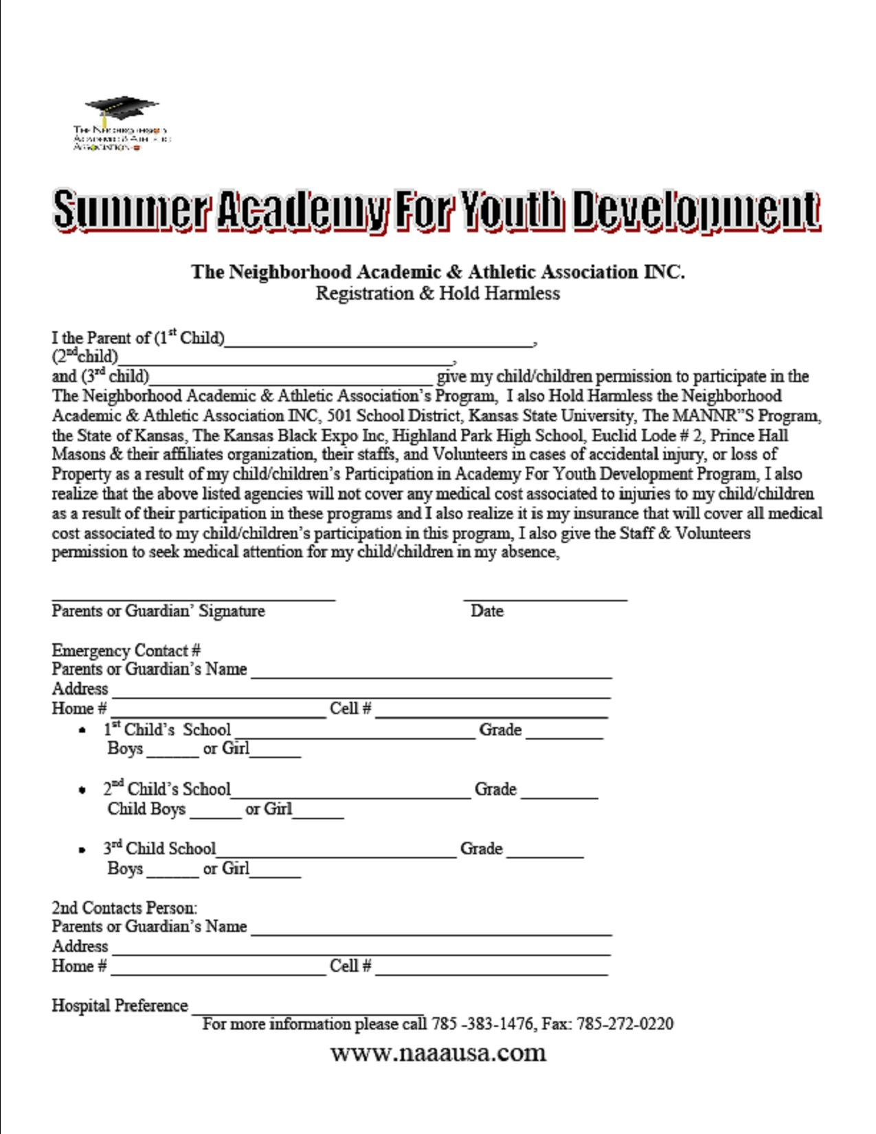 academy_For_Youth_Development_2012_Registration_Form